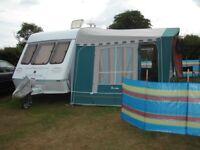 Fleetwood Countryside 1998 165EB Touring Caravan