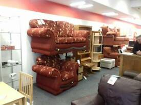 2 seater & single chair BHF Glasgow
