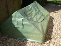 Large, lightweight Garden Frame. Protect your plants this winter.