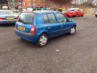2002 RENAULT CLIO 1.2 CLIO *** LONG MOT + CHEAP CAR ***