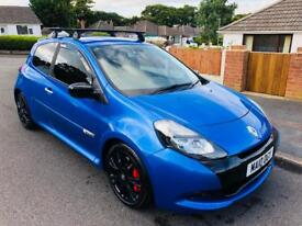 2010 RENAULT CLIO CUP LUX VVT RENAULTSPORT LIMITED EDITION 70,000 MILES