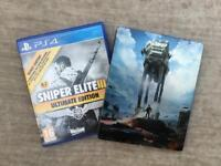 PS4 game bundle (limited edition games)