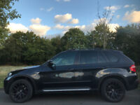 AUTOMATIC BMW X5 2007, color Black, 3.0L Diesel , 2993cc, Private number plate, Taxed & MOT.