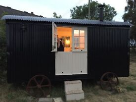 Solid Hardwood Double Stable Doors, Shepherd Hut, Building, Brand New