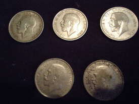 Coins - Silver Halfcrowns