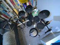 Alesis nitro mech electronic drum kit with accessories
