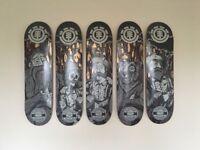 Element X Timber, Skateboard Decks.