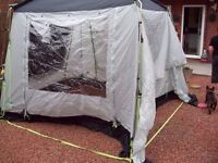 Drive Away Awning Free Standing or attach to your Motor Home