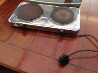 Hot Plate -Double burner- 2500W