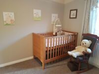 NEXT 3pc nursery set. Nearly new