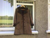 Gents full length sheepskin coat