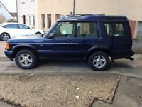 Landrover Discovery 2 TD5 2001 2.5