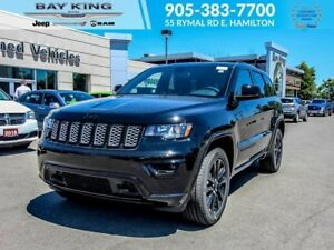 2018 Jeep Grand Cherokee ALTITUDE 4X4, GPS NAV, SUNROOF, BACKUP