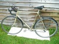 "Vintage Road Bike for sale Claud Butler Majestic. 24"" frame, 10 speed. 531 frame and forks."