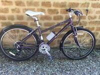 "Pendleton Brooke Ladies Hybrid bike, 16"" aluminium, shimano gears, immaculate"