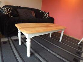 Light Hardwood coffee table