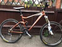 Trek ex8 full suspension mountain bike will post