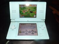 Nintendo ds lite with 12 games at least
