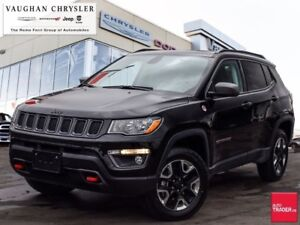 2018 Jeep Compass Trailhawk 4X4*Navigation * Panoramic Sunroof