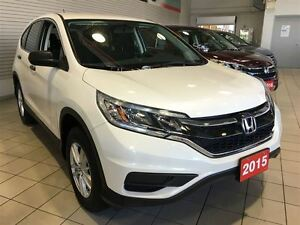 2015 Honda CR-V LX | ALLOYS | REAR CAM | ONE OWNER | HTD SEATS |