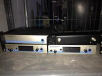 Sennheiser ew500 G3 Radio Recievers and ASA-1 RF Distro