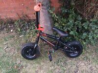 Mini rocker venom BMX bike