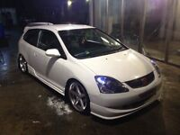 Honda Civic 1.6 k20 swap