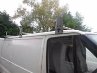 3 piece David Murphy roof rack for s.w.b ford transit