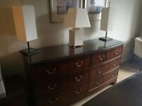 100+ Available William Maclean Quality & Luxury Large Wooden Chest of Drawers