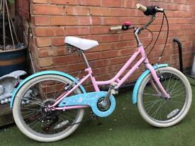 Girls 20inch wheel vintage retro style pro bike
