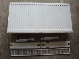 Radiator Central Heating Double 100mm x 500mm x 100mm