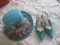 Jacque Verts Wedding Outfit size 14 , shoes size 6.worn once excellent condition