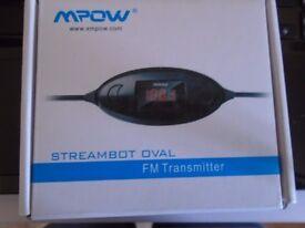 Streambot Oval FM Transmitter