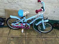 "Cherry lane girl's bike 16"""