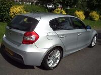 BMW 1 Series 2.0 120d M Sport 5dr Full service history 2006 (06 reg), Hatchback