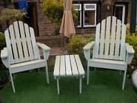 HAND MADE PATIO FURNITURE
