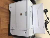 2 x HP Laserjet P3015 Printer + Spare cartridge