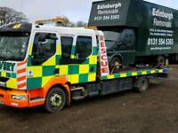 Breakdown recovery service cars and vans-Edinburgh, Lothians and Fife