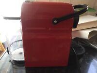 NESPRESSO by Krups Inissia XN100140 Coffee Machine - Red