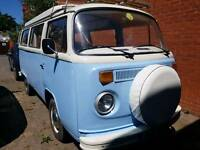 Vw Type 2 campervan