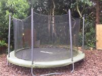 Supertramp Trampoline -10ft. Great condition. PRICE REDUCED FOR A QUICK SALE