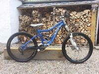 2009 Specialized big hit downhill/Freeride Mountain bike -limited edition, Custom specification