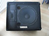 "YAMAHA SV12M 12"" 400w MONITORS. Quality USA Speakers. x 2"