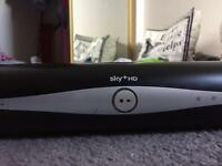 Sky+HD Box + cable and Remote