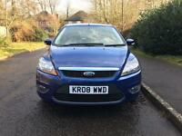 Ford Focus Zetec 1.8 2008 FSH 12 Months Mot New Shape