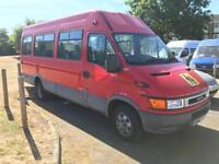 IVECO DAILY 15 SEATER MINIBUS - DISABLED RAMP ACCESS