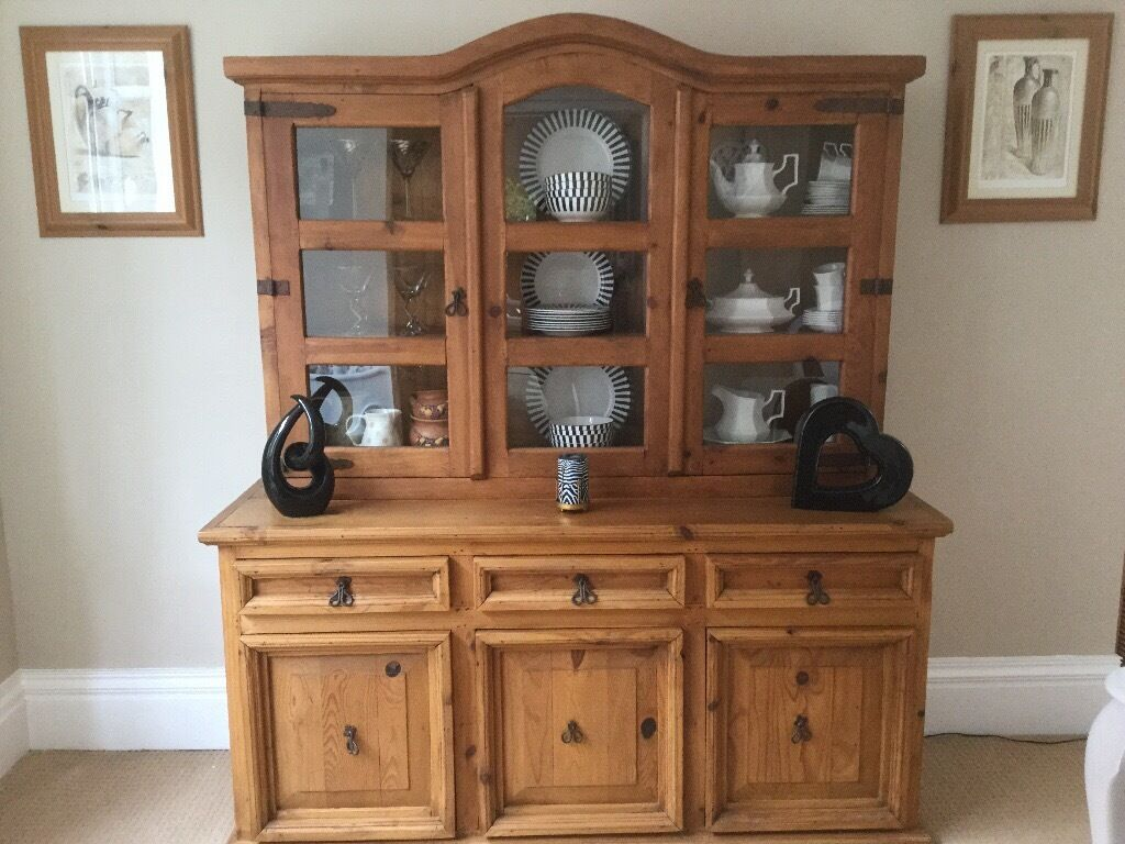Barker  Stonehouse reclaimed pine Dresser solid piece of