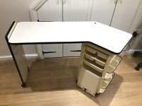 TWO manicure tables/ station