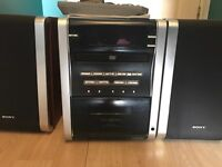 Sony micro hifi in perfect working condition