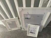 IKEA EDSBRUK WHITE FRAMES X3 Brand new in packaging